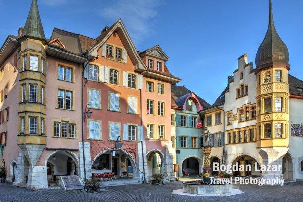 Piața Inelului din Biel, Elveția