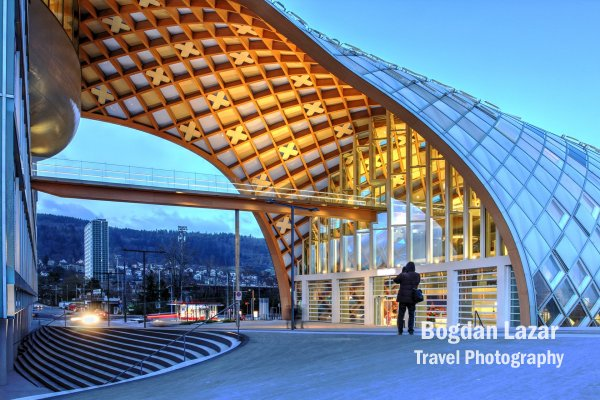Orașul Timpului (Cite du Temps), Biel / Bienne, Elveția