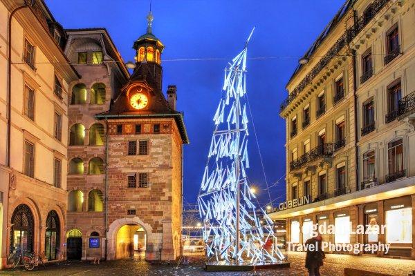 SWARM - Geneva Lux light festival 2021, Switzerland