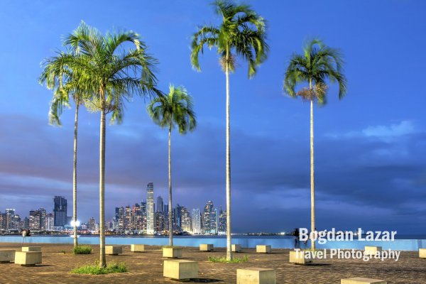Panama - vedere a orașului