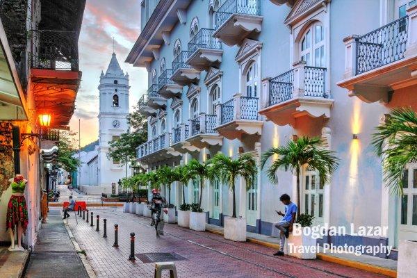 Street in Casco Viejo, Panama