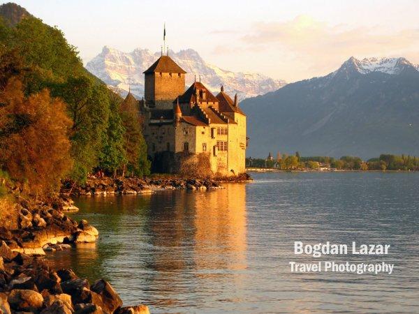 Chateau de Chillon, near Montreux, Switzerland