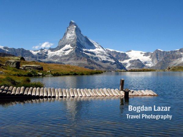 Matterhorn și Lacul Stellisee, Elveția