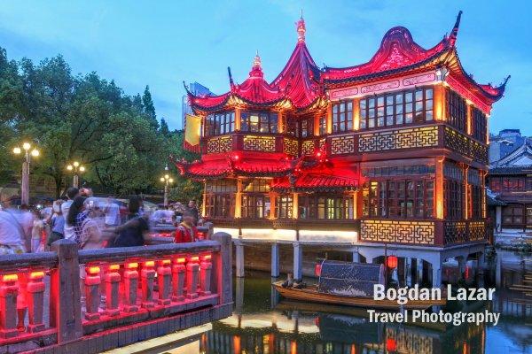 Huxinting teahouse, Yu Garden, Shanghai, China