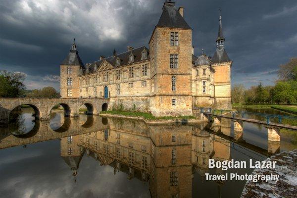 Chateau de Sully, Burgundy, France