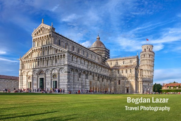 Duomo and The Leaning Tower of Pisa, Italy