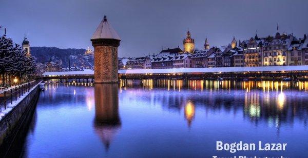 Lucerna într-o noapte de iarnă, Elveția