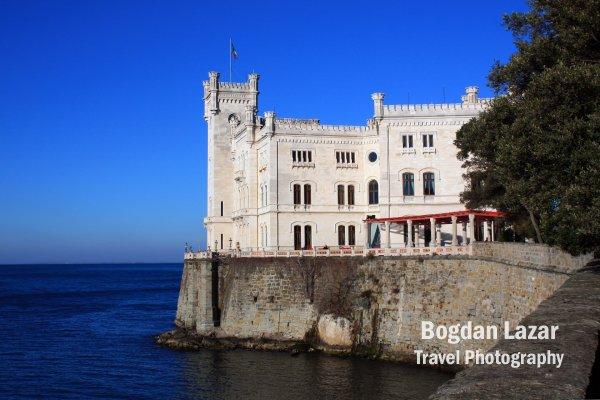 Miramare Castle near Trieste, Italy