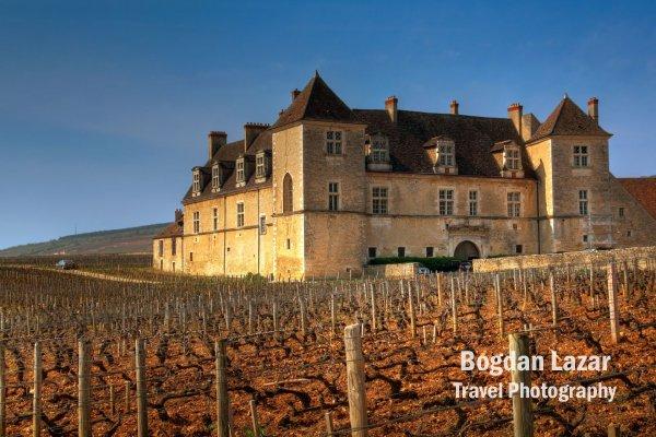 Clos de Vougeot, Burgundy, Franța
