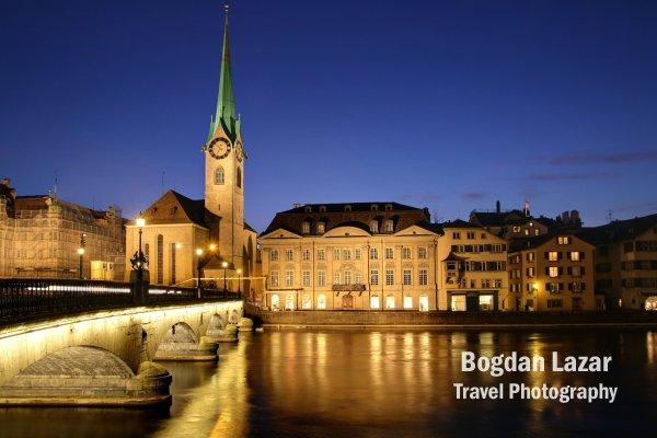 Zurich după apusul soarelui, Elveția