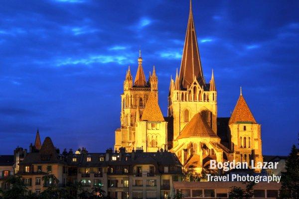 Catedrala Sfintei Fecioare (Notre-Dame) din Lausanne, Elveția
