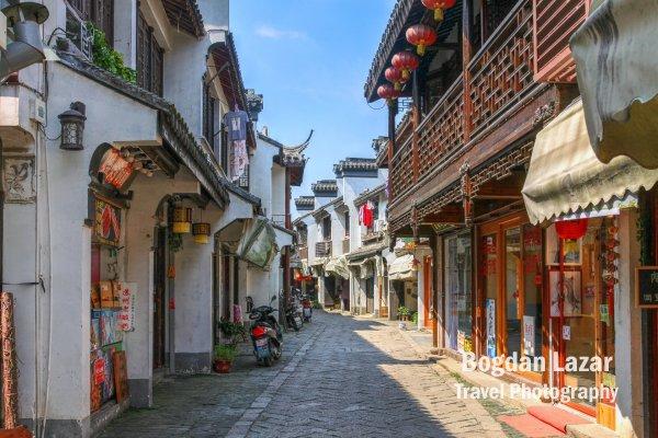Stradă istorică in Tongli, China