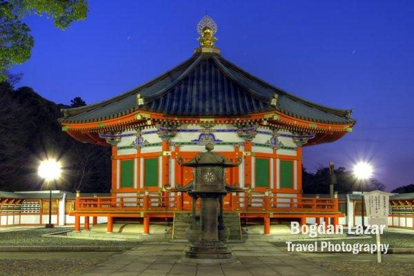 Salonul Prințului Shotoku din complexul templului Narita-san Shinsho-ji, Japonia
