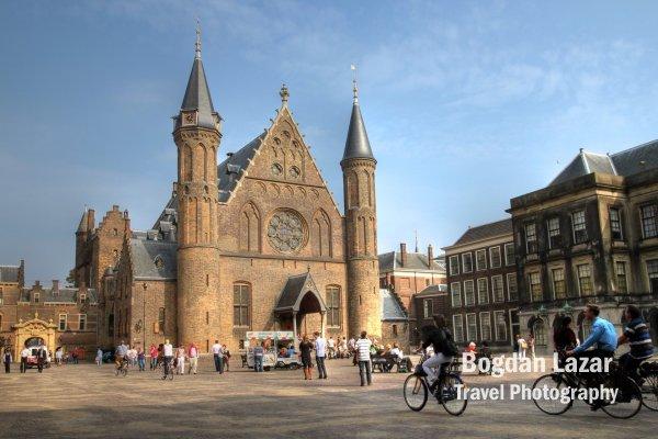 Ridderzaal (Knight's Hall) inside the Binnenhof, The Hague, Netherlands