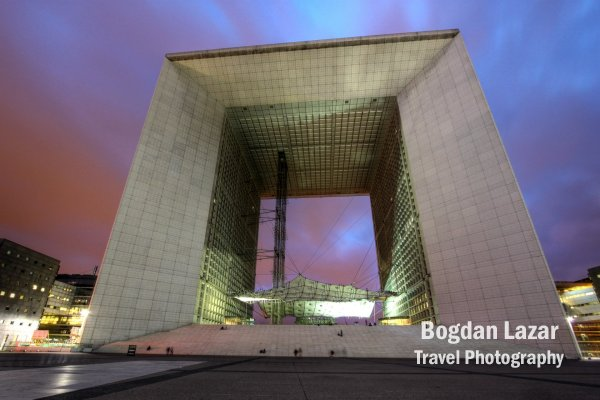 Grande Arche, La Defense, Paris, Franţa
