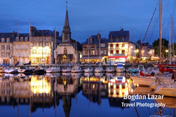 Quai St-Etienne in Honfleur, France