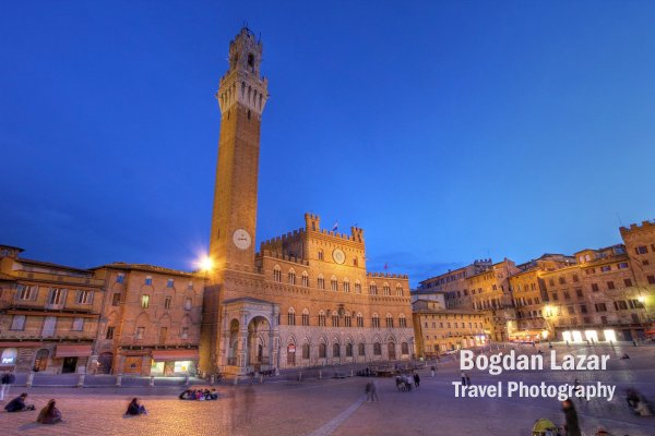 Primăria orașului Siena, Italia