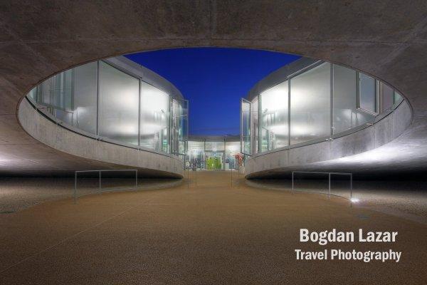 Rolex Learning Center, EPFL, Switzerland