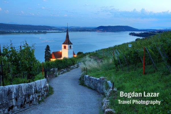 Drum prin vii - Ligerz, Elveția