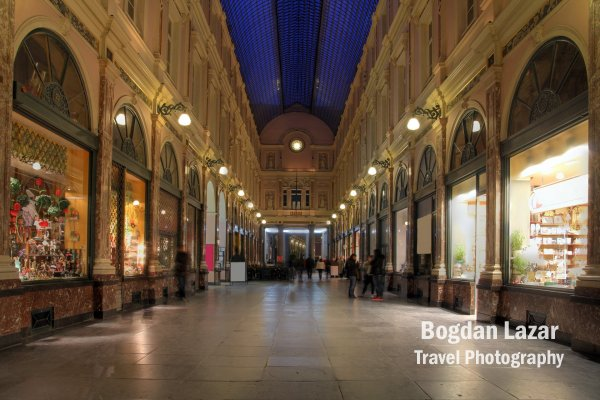 Royal Galleries of St-Hubert, Brussels, Belgium