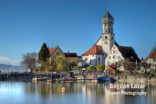 Wasserburg on Bodensee, Germany