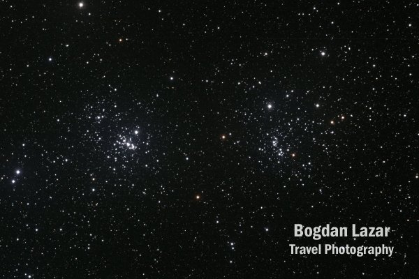 Starfield with The Double Cluster