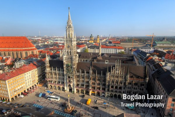 New Town Hall and Marienplatz, Munich, Germany
