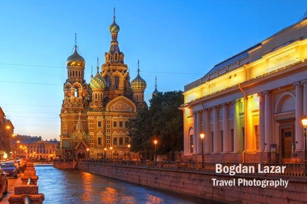 Canalul Griboedova, Saint Petersburg, Rusia