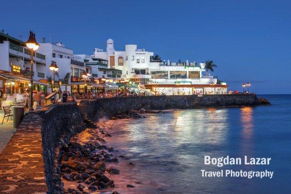 Stațiunea Playa Blanca, Lanzarote, Spania