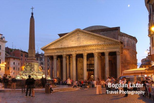 The Pantheon, Roma, Italy