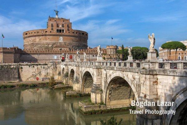 Castelul Santanglo, Roma, Italia