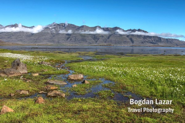 Fiord in estul Islandei