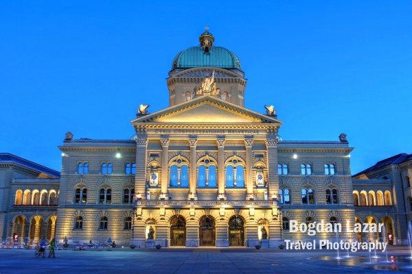 Palatul Federal, Berna, Elveția