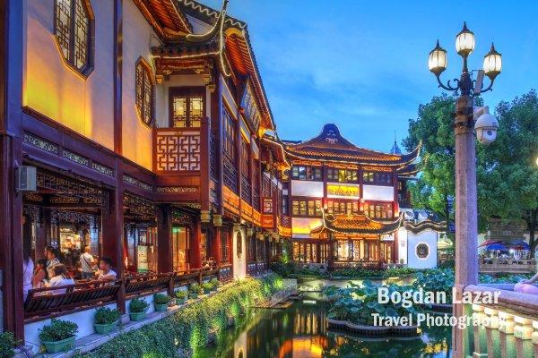 Yu Gardens and Bazaar, Shanghai, China