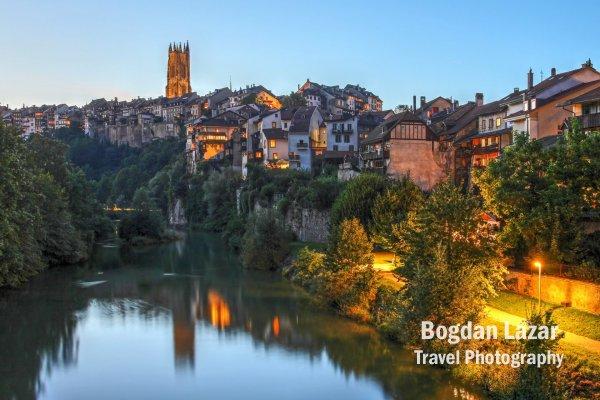 Fribourg, Elveția