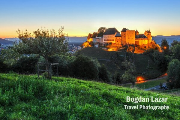 Lenzburg Castle, Aargau, Switzerland