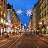 Street scene in Geneva, Switzerland