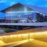 SwissTech Convention Center on EPFL Campus, Lausanne, Switzerland