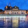 Pont de la Machine - Geneva Lux light festival 2021, Switzerland