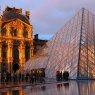 Louvre - golden hour, Paris, France