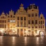 Houses in Grand Place, Brussels, Belgium