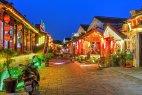 Night scene in Tongli, China
