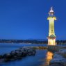 Paquis Lighthouse, Geneva, Switzerland