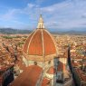 Florence aerial with Duomo, Italy