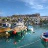 Fishing boats in Puerto de Mogan, Gran Canaria, Spain