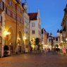 Street scene in Lindau, Germany