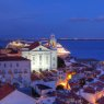 St Stephen Church, Alfama, Lisbon, Portugal