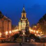 Timisoara Orthodox Cathedral in Victory Square, Romania