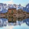 Landscape in European Alps