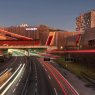 Westside Shopping and Leisure Centre over the A1 highway, Bern, Switzerland
